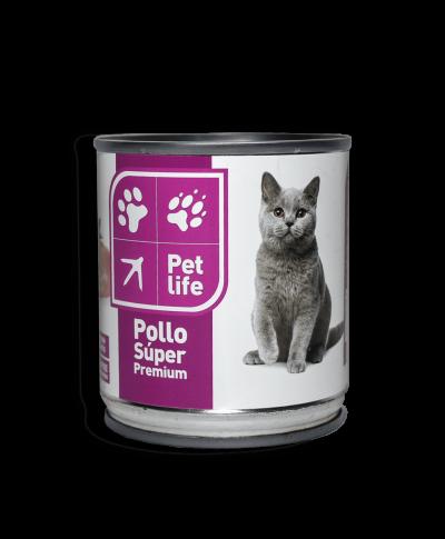 Pechuga de Pollo en Agua para Gatos