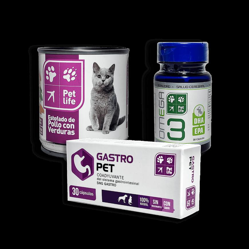 Kit Especial Para Dieta Blanca Gato