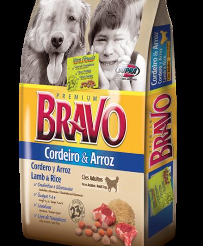 Alimento Bravo Cordero y Arroz